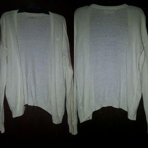 Cream Abercrombie Sweater Size L